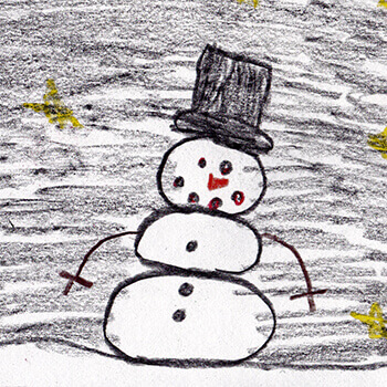 CHILDREN_snowman_draw_350px